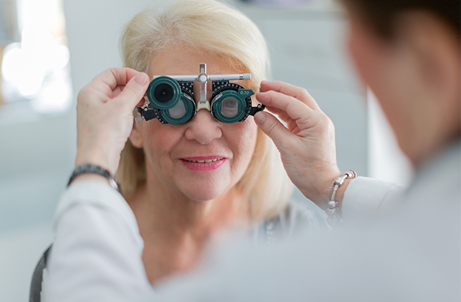 ophthalmology payment processing